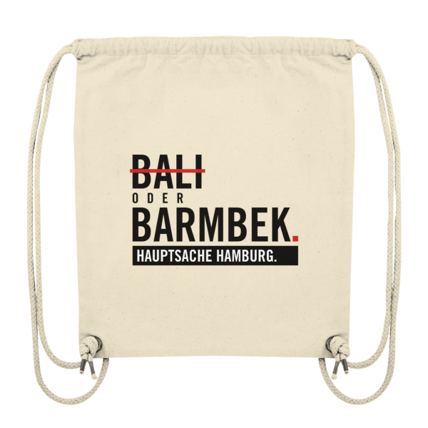 Beiger Barmbek Hamburg Turnbeutel