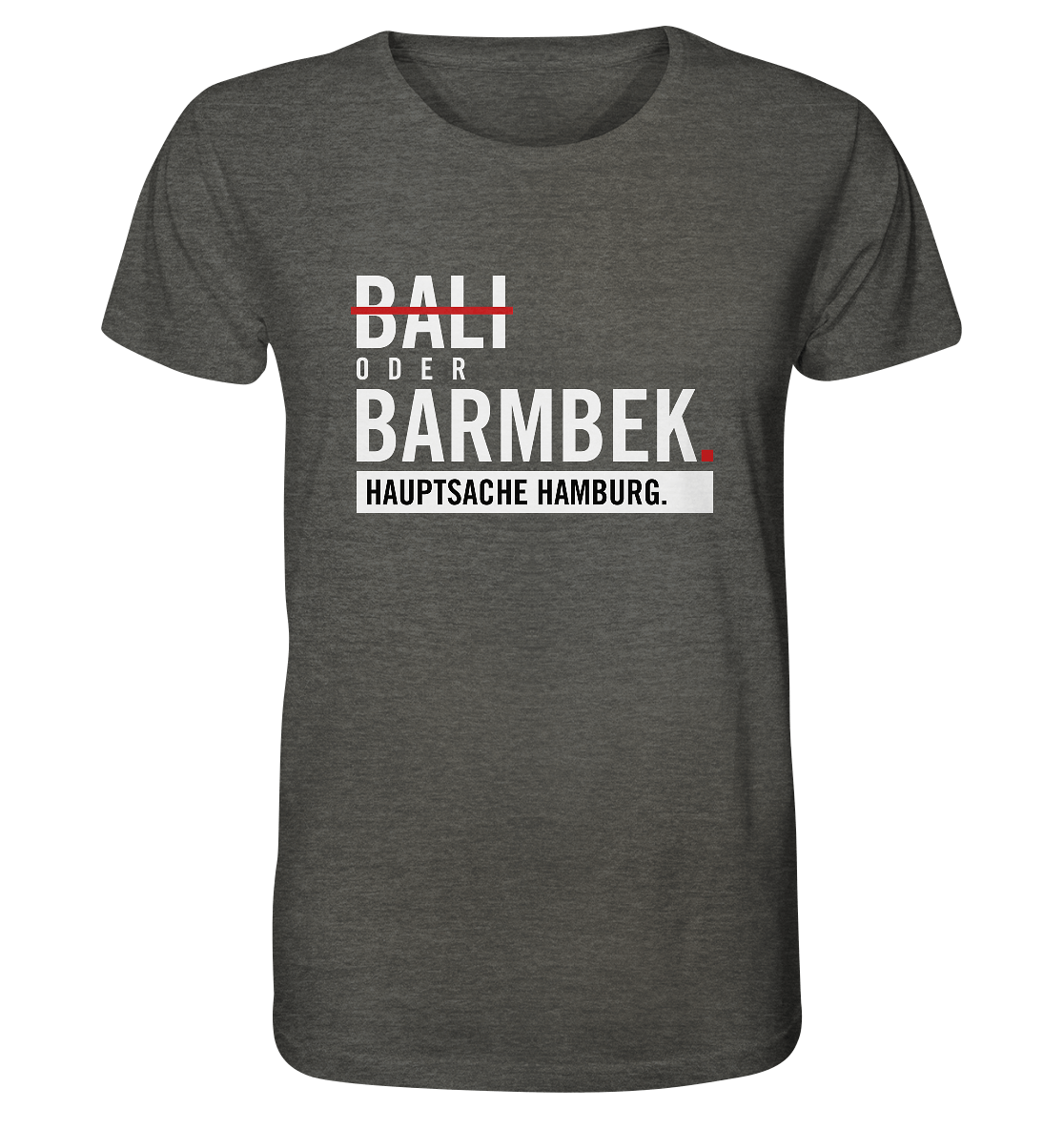 Dunkelgraues Barmbek Hamburg Shirt