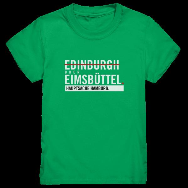 Grünes Eimsbüttel Hamburg Shirt Kids