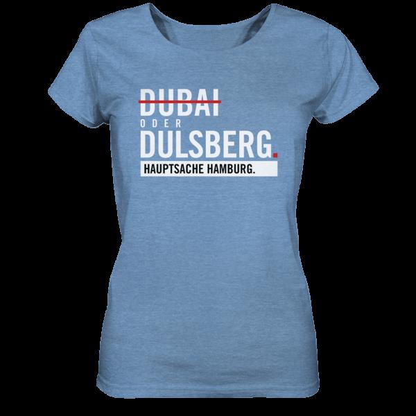 Blaues Dulsberg Hamburg Shirt Damen