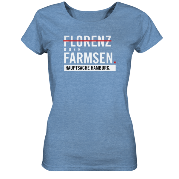 Blaues Farmsen Hamburg Shirt Damen