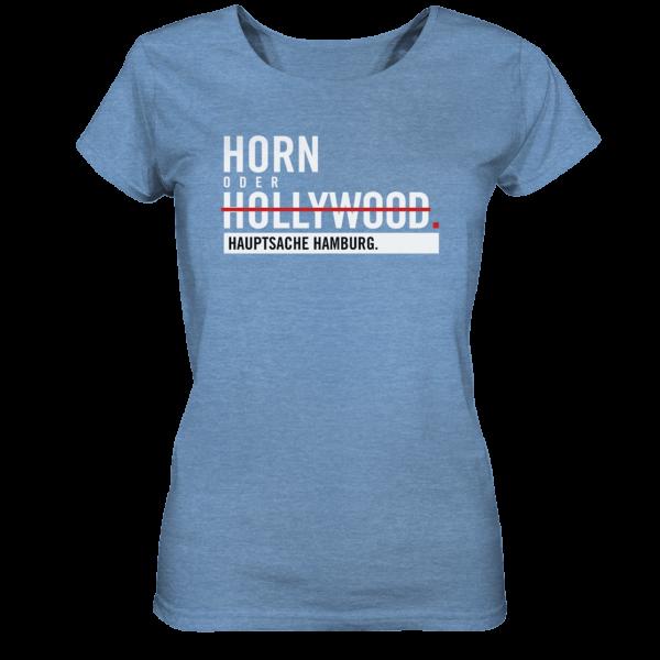 blaues Horn Hamburg Shirt Damen