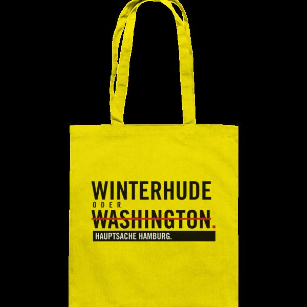 Gelbe Winterhude Hamburg Tasche