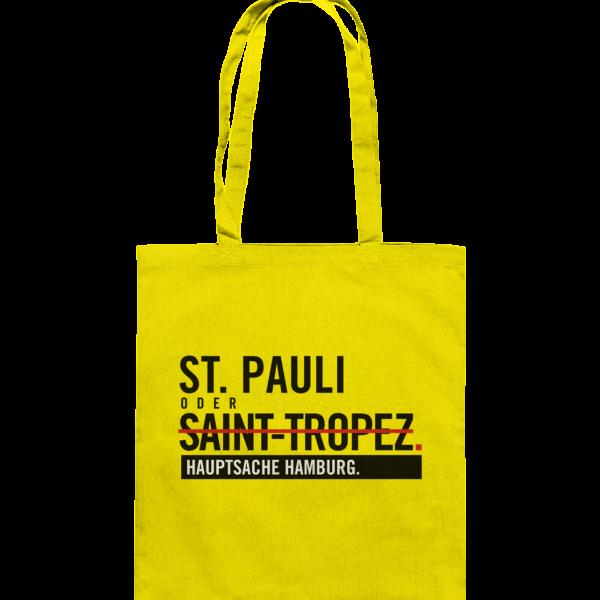 Gelbe St Pauli Hamburg Tasche