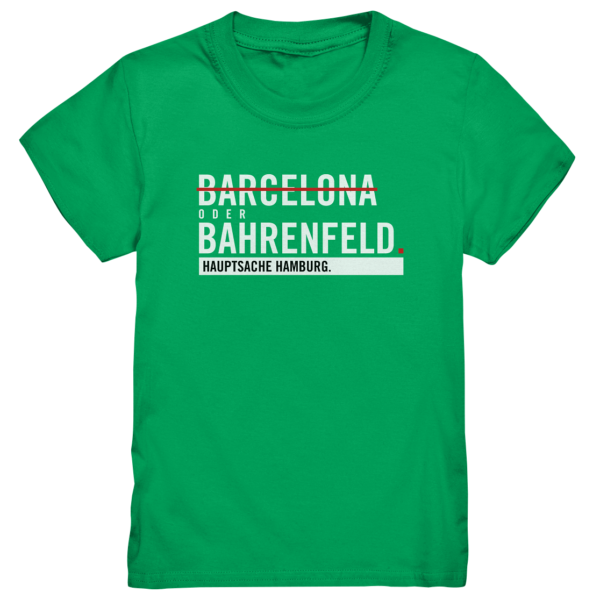 Grünes Bahrenfeld Hamburg Shirt Kids