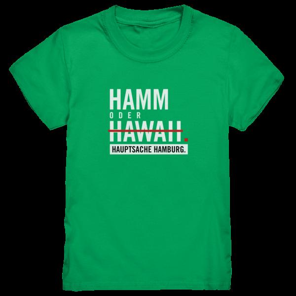 DAS Hamburg Hamm Kinder T-Shirt in grün