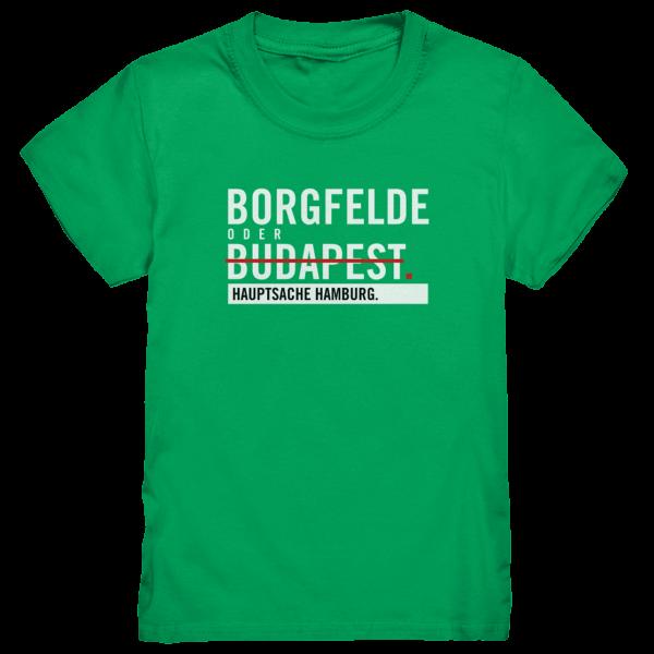 Grünes Borgfelde Hamburg Shirt Kids