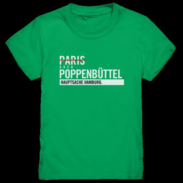 Grünes Poppenbüttel Hamburg Shirt Kids