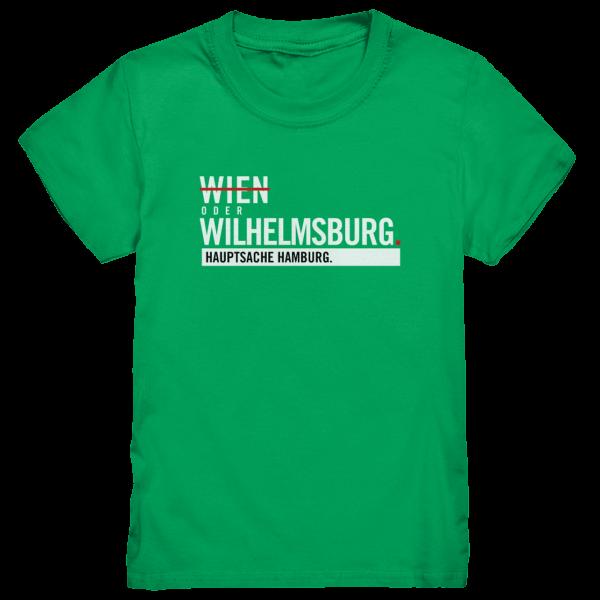 Grünes Wilhelmsburg Hamburg Shirt Kids
