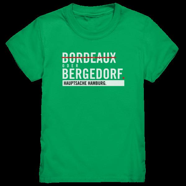Grünes Bergedorf Hamburg Shirt Kids
