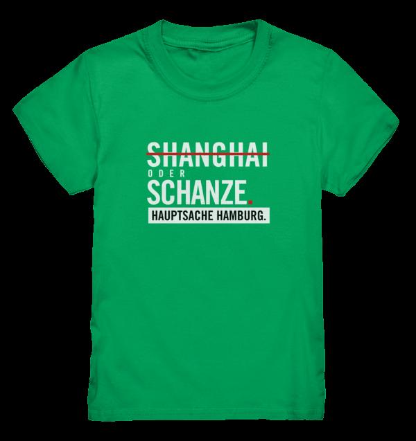 Grünes Sternschanze Hamburg Shirt Kids