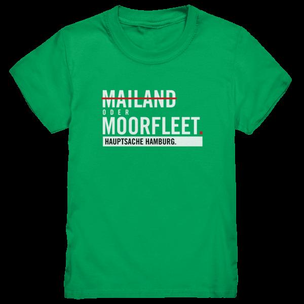 Grünes Moorfleet Hamburg Shirt Kids