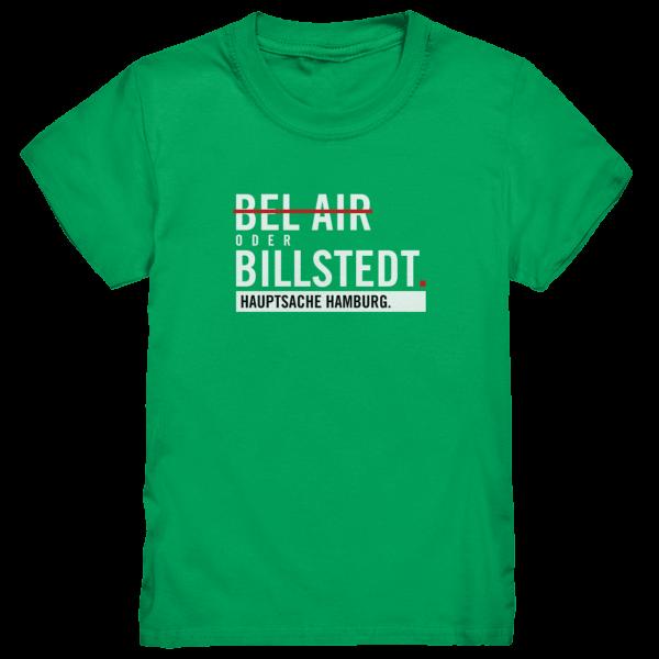 Grünes Billstedt Hamburg Shirt Kids
