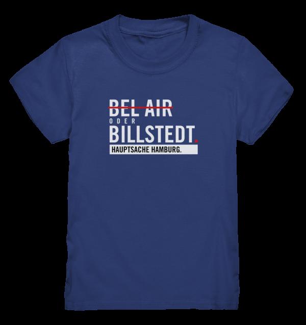 DAS Hamburg Billstedt Kinder T-Shirt in dunkelblau