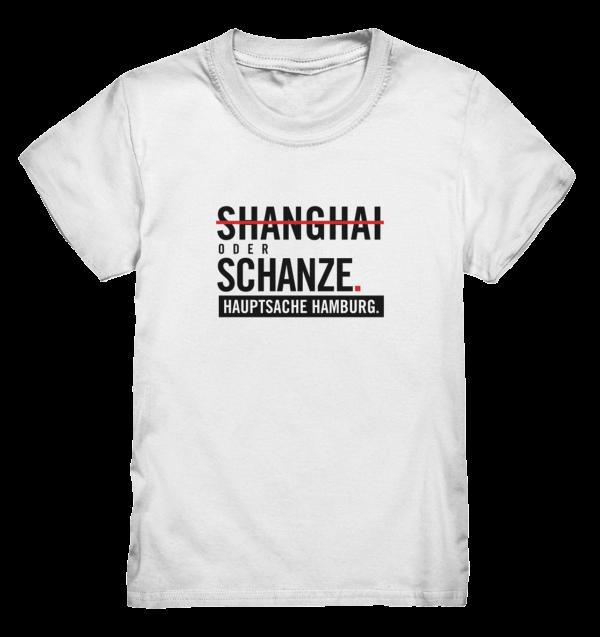 Weißes Sternschanze Hamburg Shirt Kids