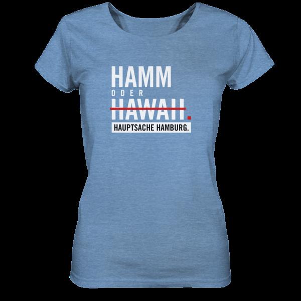 blaues Hamm Hamburg Shirt Damen