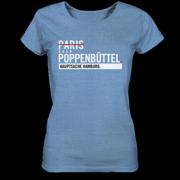 Blaues Poppenbüttel Hamburg Shirt Damen