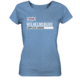 blaues Wilhelmsburg Hamburg Shirt Damen