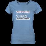 blaues Sternschanze Hamburg Shirt Damen