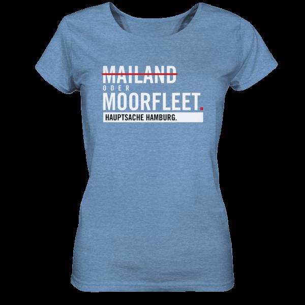 Blaues Moorfleet Hamburg Shirt Damen