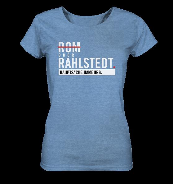 Blaues Rahlstedt Hamburg Shirt Damen