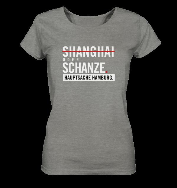 Dunkelgraues Sternschanze Hamburg Shirt Damen