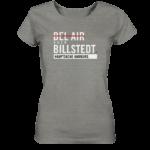 Dunkelgraues Billstedt Hamburg Shirt Damen