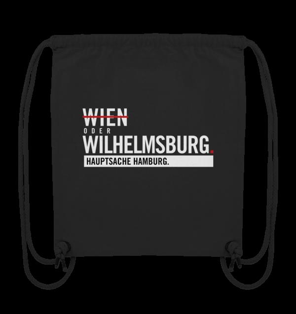 Schwarzer Wilhelmsburg Hamburg Turnbeutel