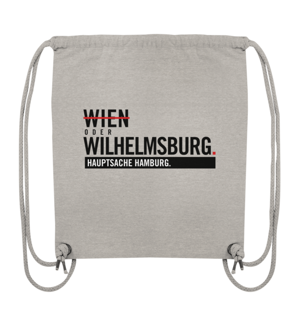 Grauer Wilhelmsburg Hamburg Turnbeutel