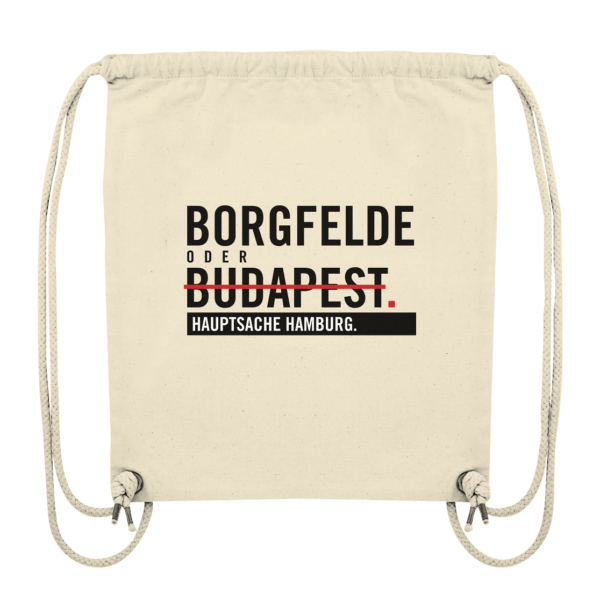 Beiger Borgfelde Hamburg Turnbeutel