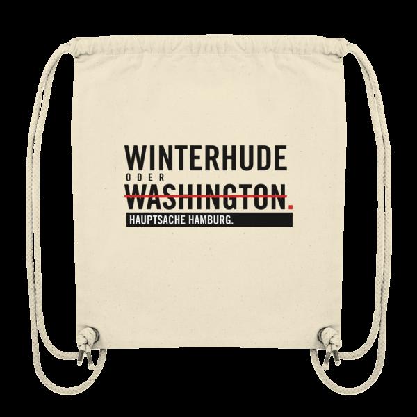 Beiger Winterhude Hamburg Turnbeutel