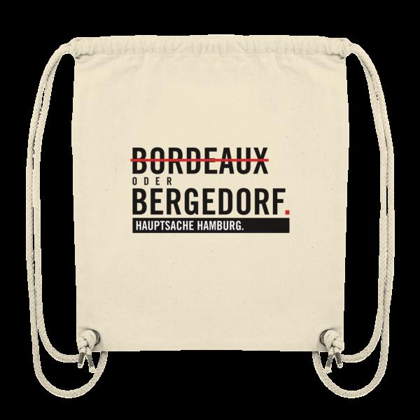 Beiger Bergedorf Hamburg Turnbeutel