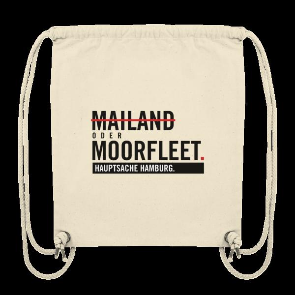 Beiger Moorfleet Hamburg Turnbeutel