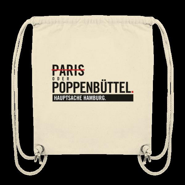 DER Poppenbüttel Hamburg Turnbeutel in beige