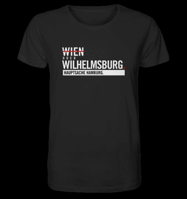 Schwarzes Wilhelmsburg Hamburg Shirt