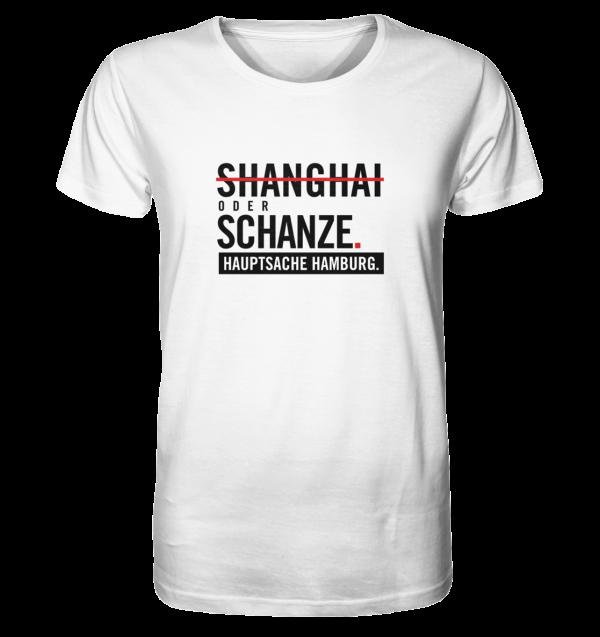 Weißes Sternschanze Hamburg Shirt