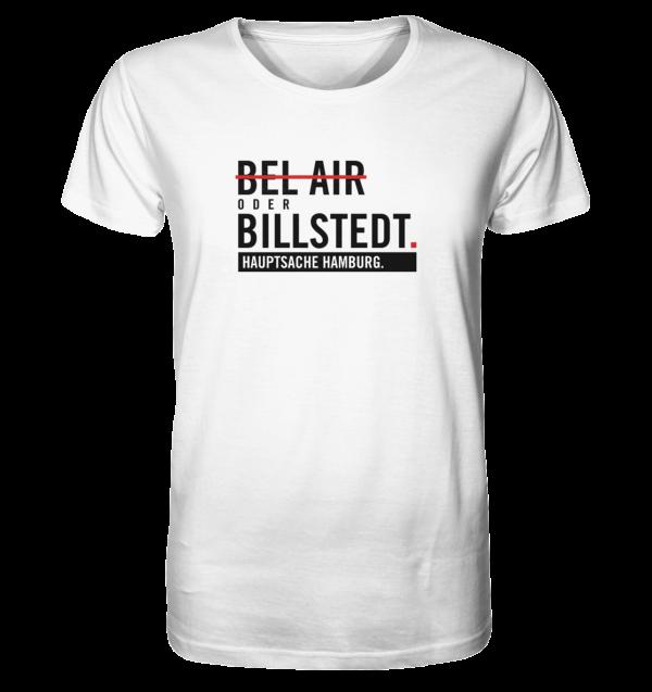 Weißes Billstedt Hamburg Shirt Herren
