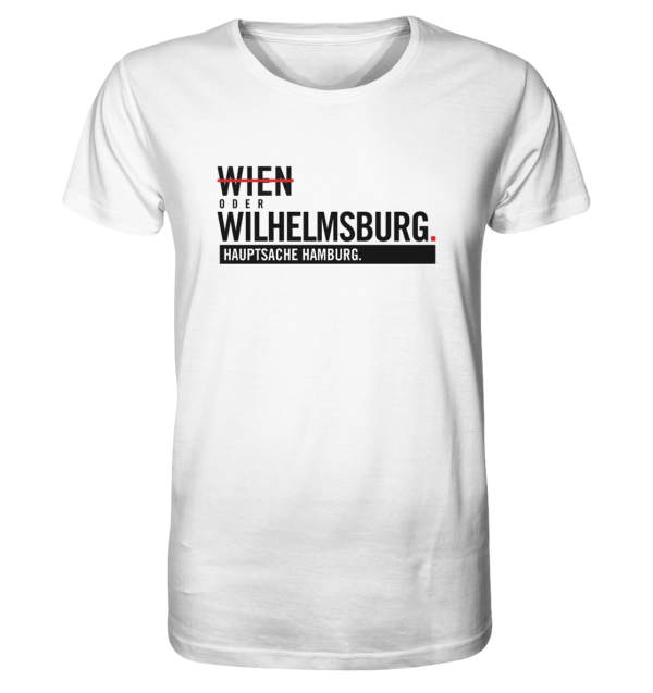 Weißes Wilhelmsburg Hamburg Shirt