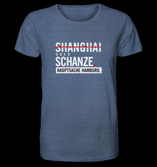 Dunkelblaues Sternschanze Hamburg Shirt