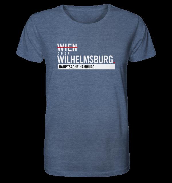 Dunkelblaues Wilhelmsburg Hamburg Shirt
