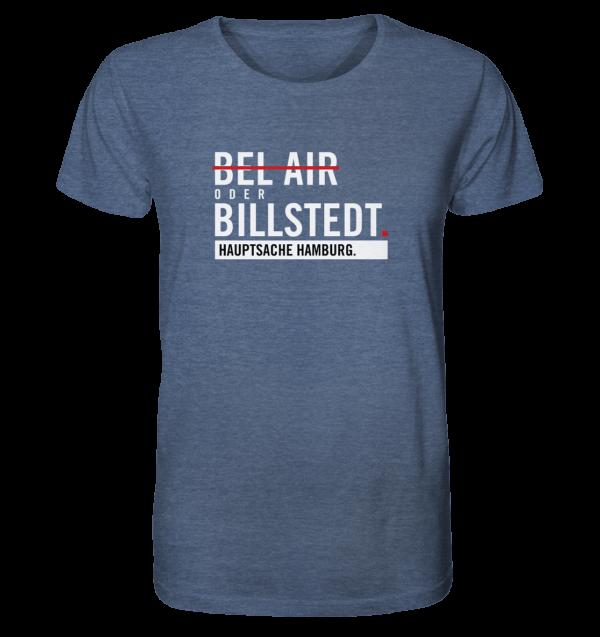 Dunkelblaues Billstedt Hamburg Shirt