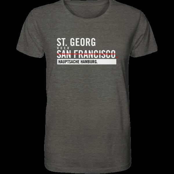 Dunkelgraues St. Georg Hamburg Shirt