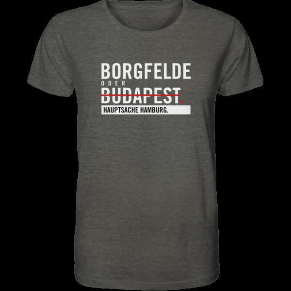 Dunkelgraues Borgfelde Hamburg Shirt