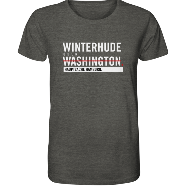 Dunkelgraues Winterhude Hamburg Shirt