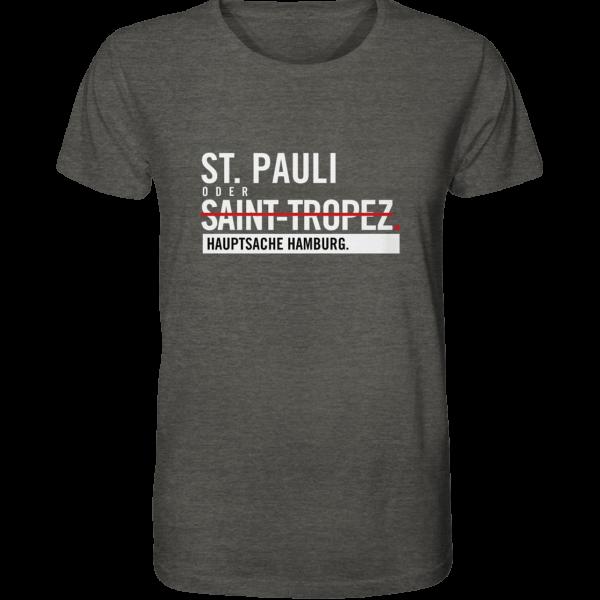 Dunkelgraues St Pauli Hamburg Shirt