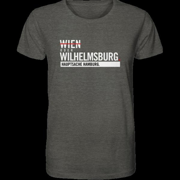 Dunkelgraues Wilhelmsburg Hamburg Shirt