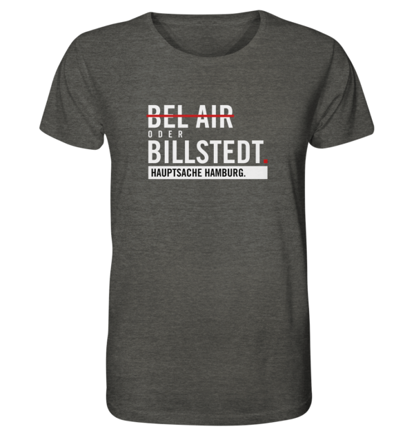 Dunkelgraues Billstedt Hamburg Shirt