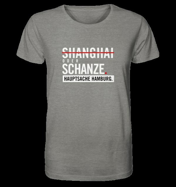 Hellgraues Sternschanze Hamburg Shirt