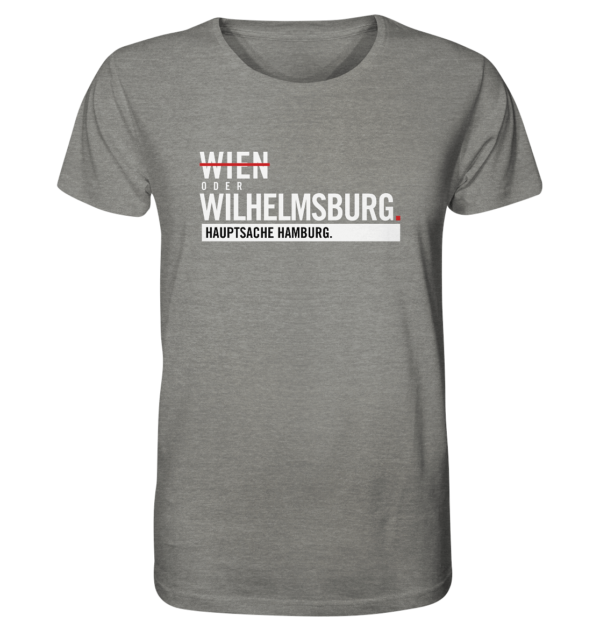Hellgraues Wilhelmsburg Hamburg Shirt