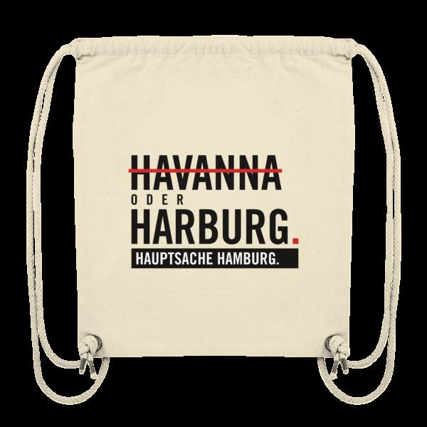 Beige Harburg Hamburg Turnbeutel